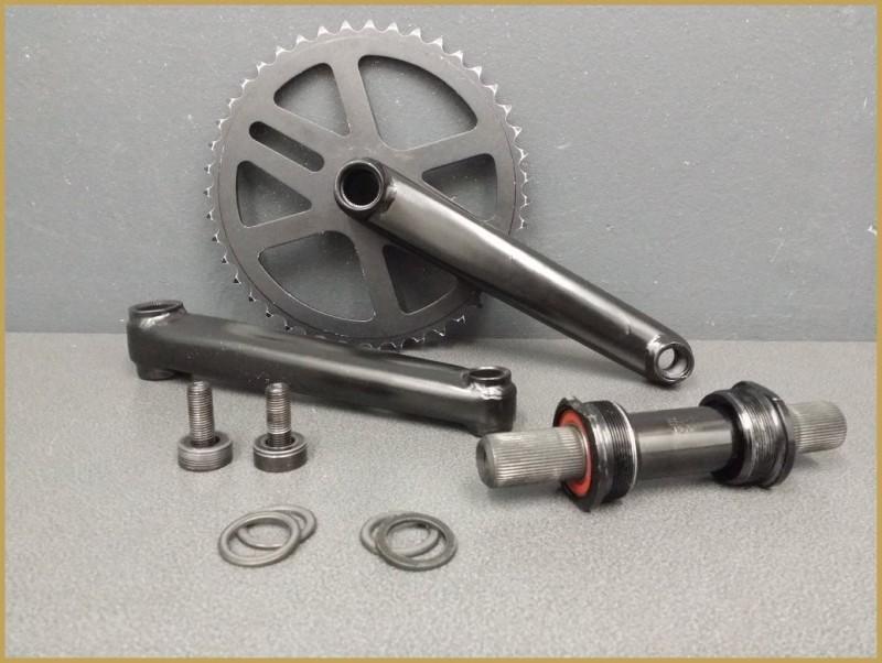 """Crank BMX """"3 parts"""" 175mm (Ref 512)"""
