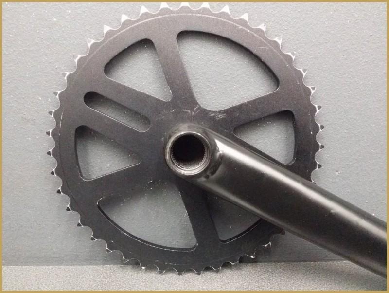 """Pédalier BMX """"3 pièces"""" 175mm (Ref 512)"""