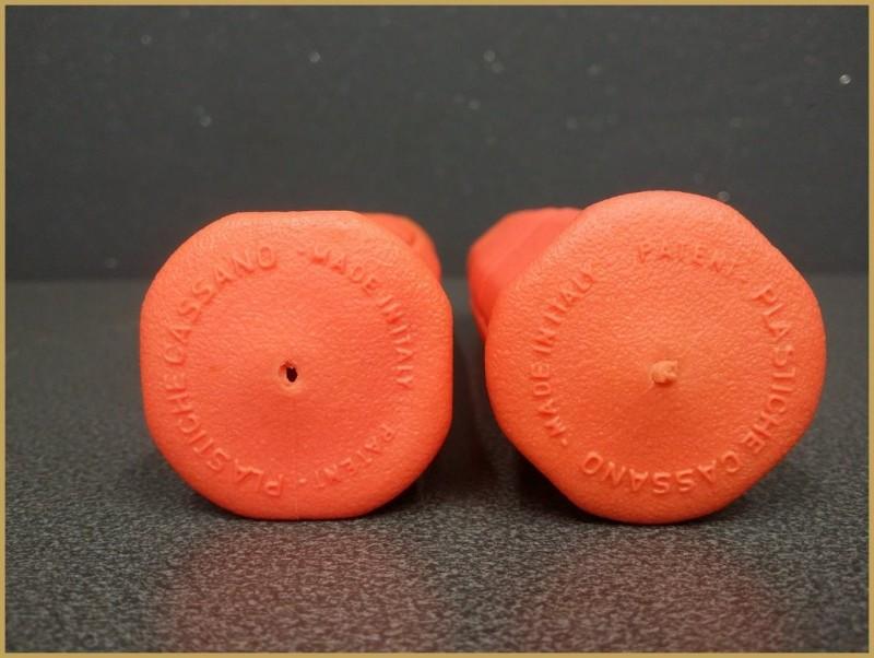 "Poignées VTT ""CASSANO"" Orange  (Ref 33)"