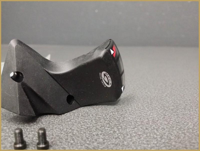 "Indicatore anteriore tripla ingranaggi ""SHIMANO LX 570"" (Rif 02)"