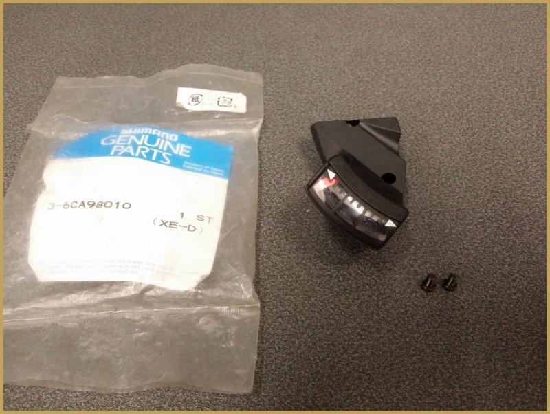 """Indicator rear gears SHIMANO M570"""" 9v (Ref 01)"""