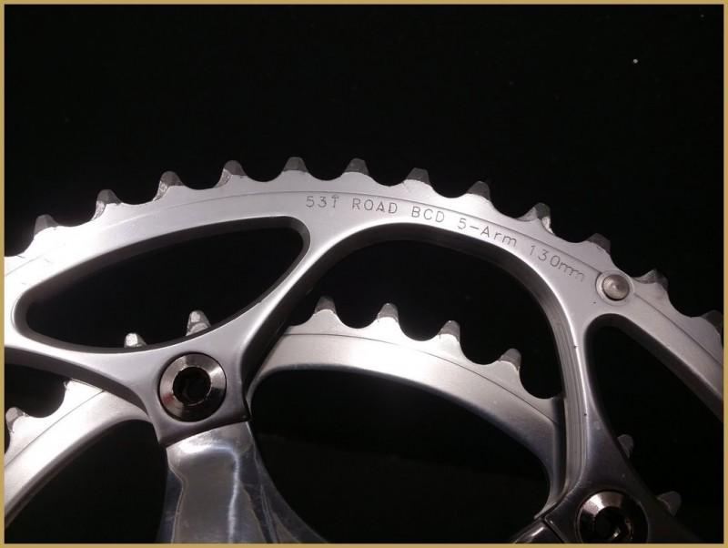 """Pédalier """"TOKEN MONO-Q"""" 172.5 mm (Ref 518)"""