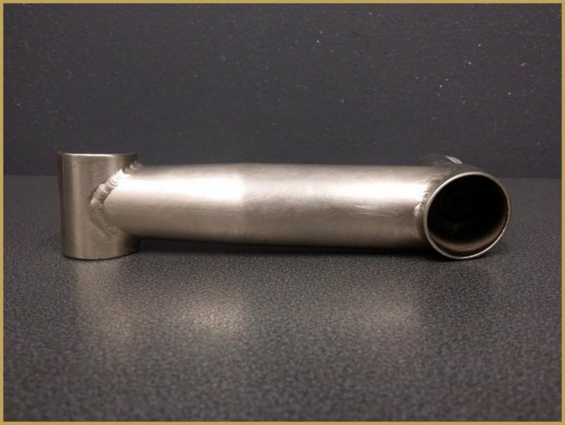 """Quill"" stem, MTB STEEL"" 140mm (Ref 543)"