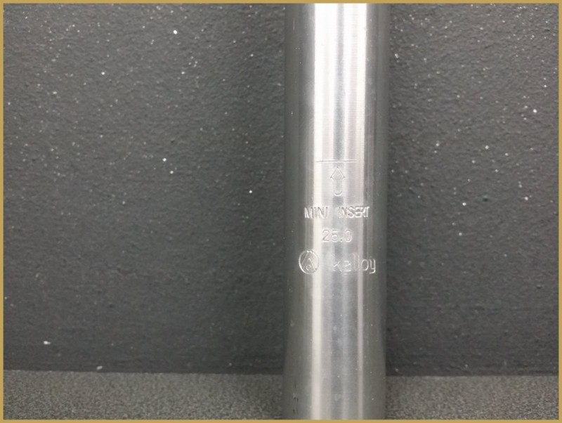 """Tige de selle """"KALLOY"""" Ø25mm (Ref 333)"""