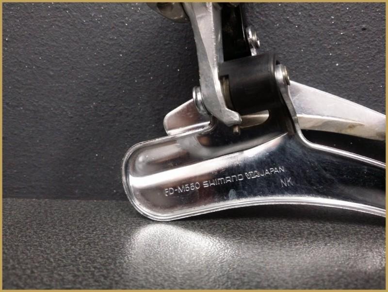 """Deragliatore anteriore """"SHIMANO LX Triple (Rif 1005)"""