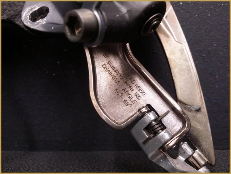 """Deragliatore anteriore """"SHIMANO XTR"""" (Rif 1007)"""
