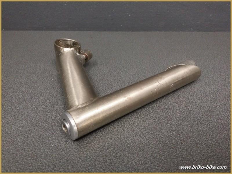 """Vorbau """"NL edelstahl gebürstet"""" 110mm (Ref 560)"""