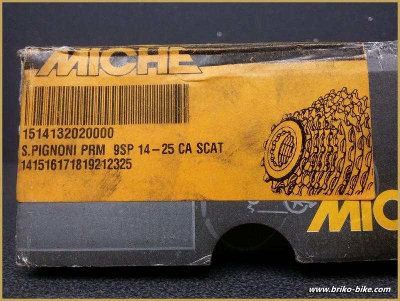 """Cassette """"MICHE"""" Campagnolo 9v 14/25 (Ref 112)"""