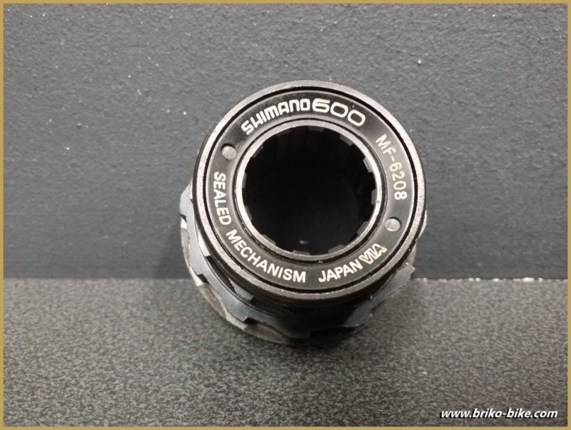 """Cuerpo de rueda libre """"SHIMANO 600AX"""" de 6v (Ref 486)"""