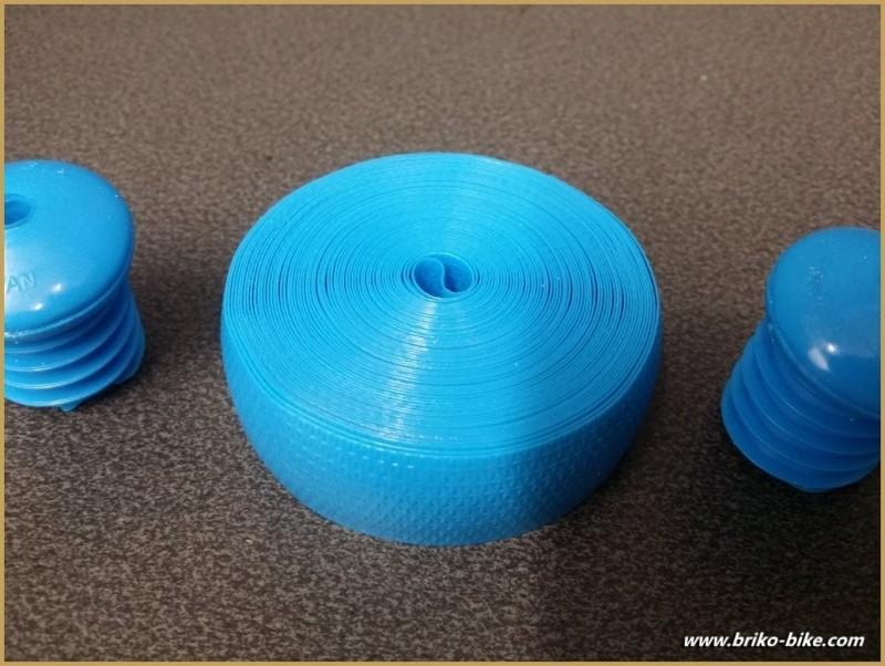 Cinta De Plástico De Color Azul (Ref 54)