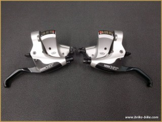 "Leviers de frein VTT ""SHIMANO XT M750"" 3x9 (Ref 422)"