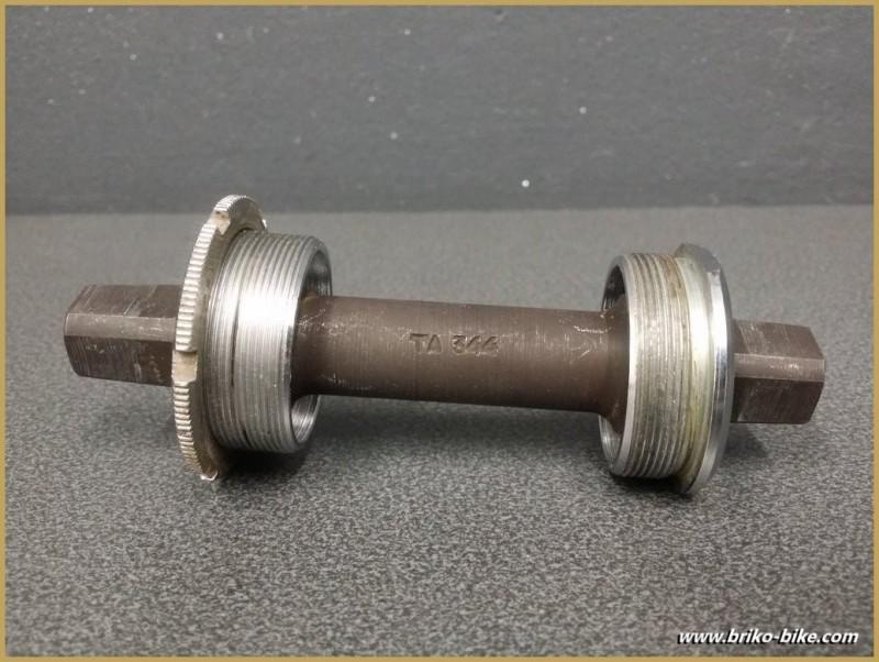 "Axe de pédalier ""SPECIALITE TA"" 115mm (Ref 219)"