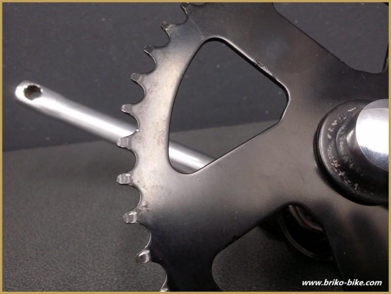 Pédalier BMX monobloc 175mm (Ref 508)