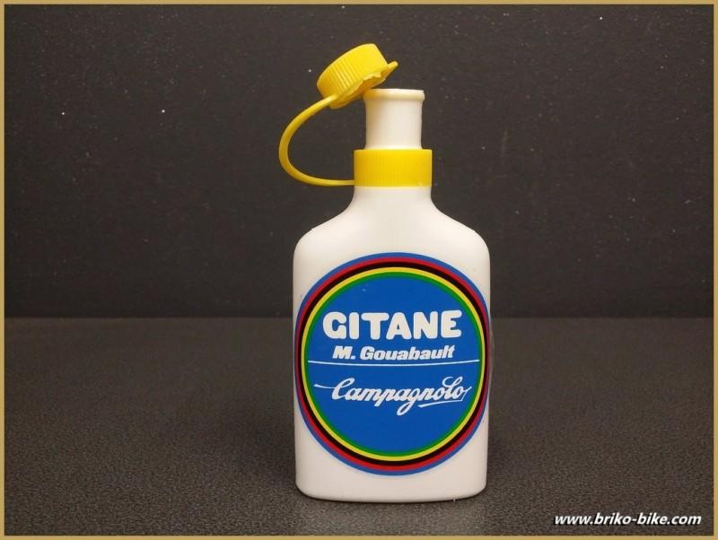 """Topette """"GITANE CAMPAGNOLO"""" Jaune (Ref 04)"""