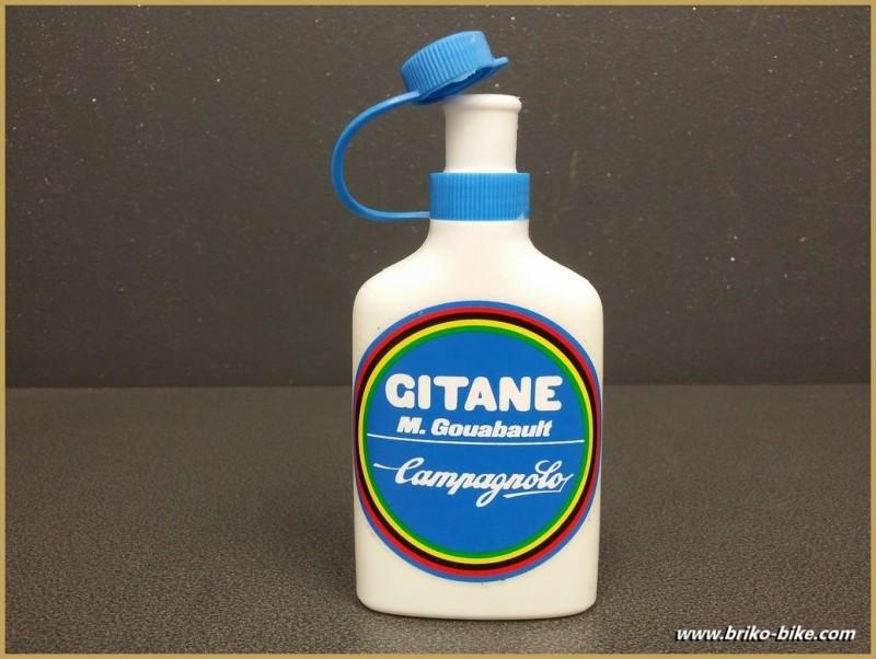"Topette ""GITANE CAMPAGNOLO"" bleu ciel (Ref 01)"