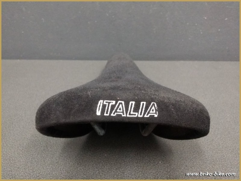 "Selle Italia ""MUNDIALITA"" Nubuk Nero (Rif 225)"