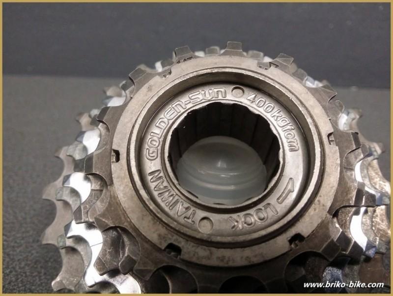 """Freewheel """"GOLDEN SUN"""" 6v 14/24 (Ref 494)"""