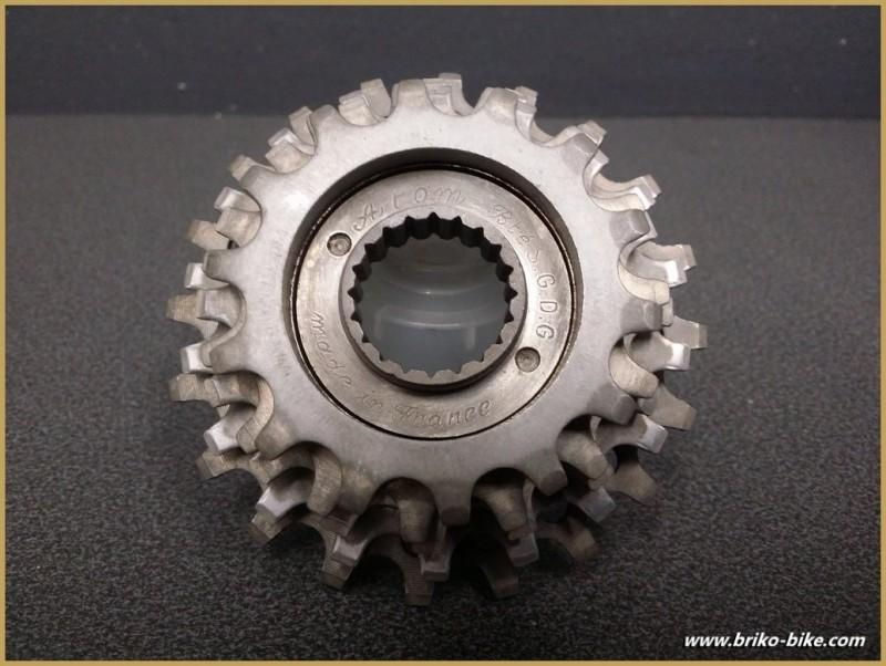 """Wheel free """"ATOM"""" 5v 14/20 (Ref 503)"""