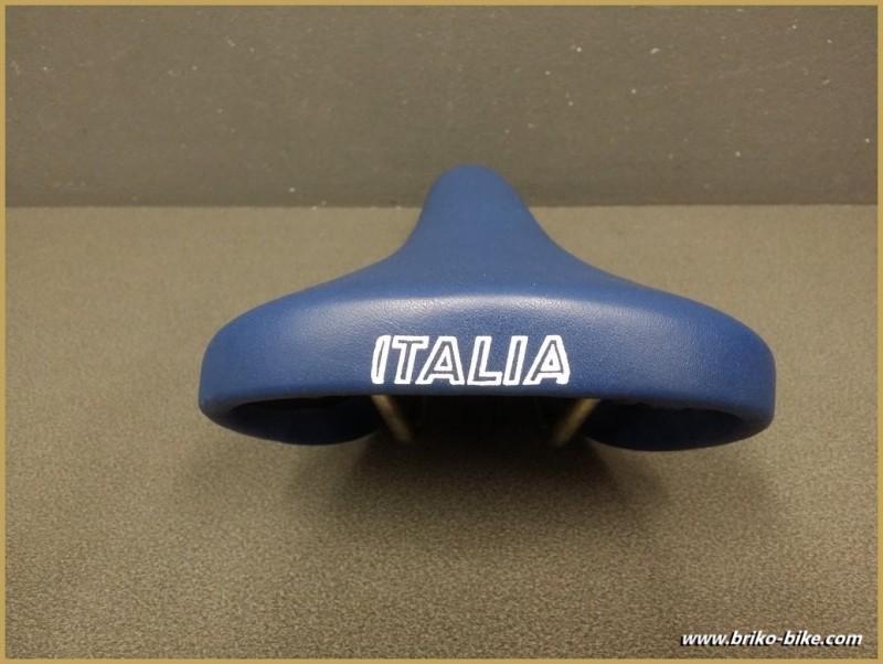"Selle Italia ""MUNDIALITA"" Cuir Bleu (Ref 197)"