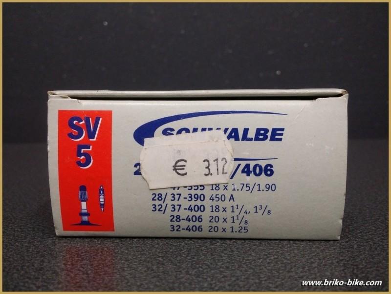 """Chambre à air """"SCHWALBE SV 5"""" 450A - 20"""""""