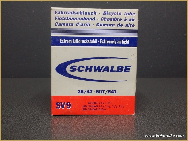 "Cámara de aire ""SCHWALBE SV 9"" 600A - 24"""