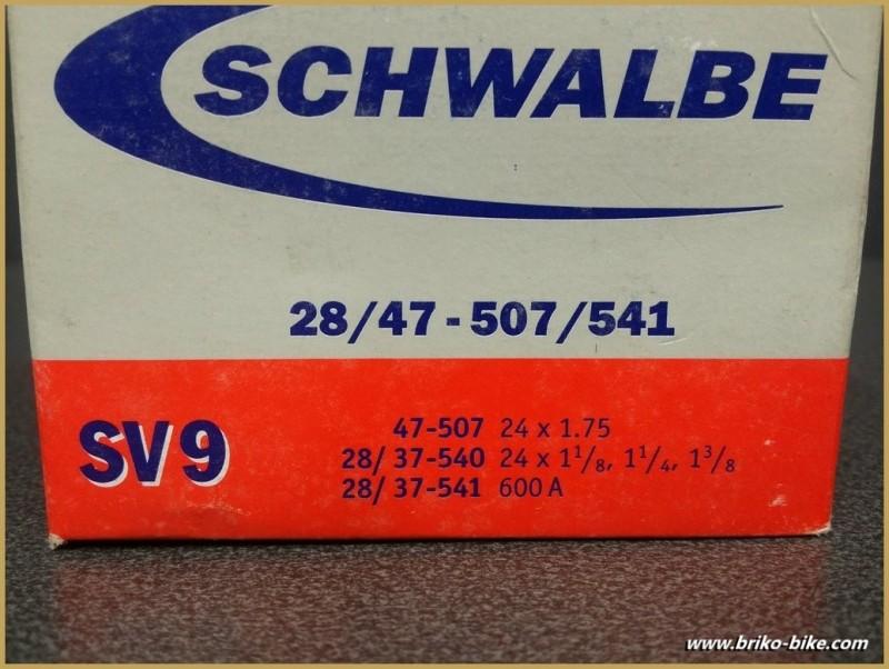 """Chambre à air """"SCHWALBE SV 9"""" 600A - 24"""""""