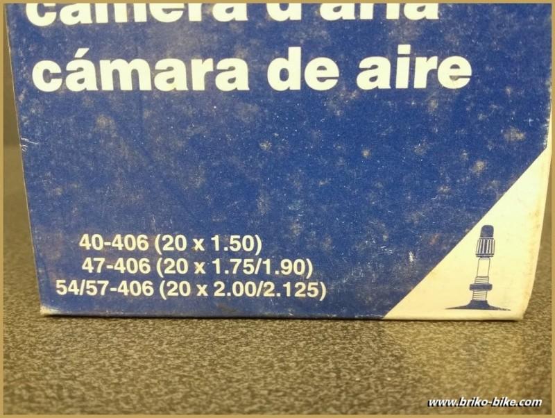 """Chambre à air """"IMPAC"""" 20"""""""