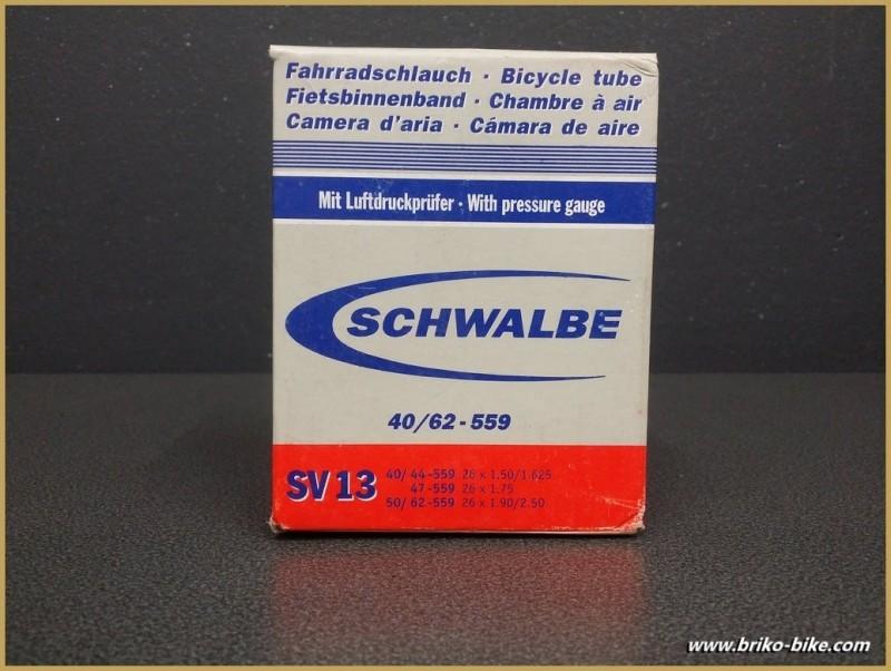 """Schlauch SCHWALBE SV13 - für 26"""""""