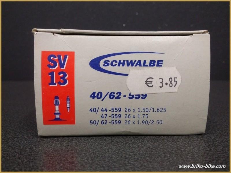 """Chambre à aire SCHWALBE SV13 - 26"""""""
