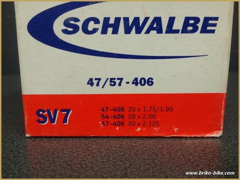 "Chambre à air SCHWALBE SV7 20"""