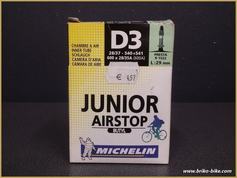 "Chambre à air ""MICHELIN D3 Junior"" 600A"