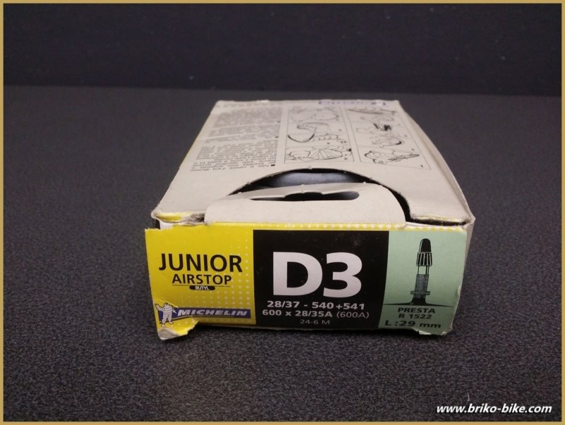 "Camera d'aria MICHELIN D3 Junior"" 600A"