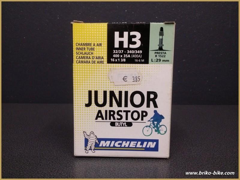 """Chambre à air """"MICHELIN H3 junior"""" 400A - 16"""""""