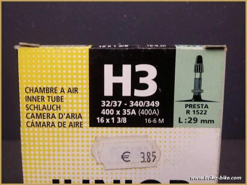 """Luft-kammer """"MICHELIN H3-junior"""" - 400A - 16"""""""