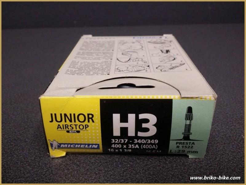 """Air chamber """"MICHELIN H3 junior"""" 400A - 16"""""""