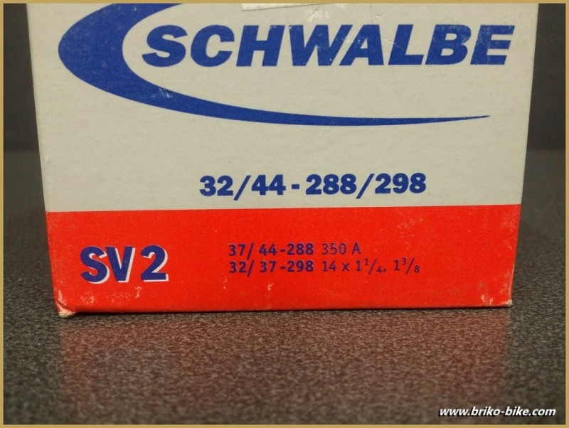 "Air chamber ""SCHWALBE SV 2"" 350A -14"""