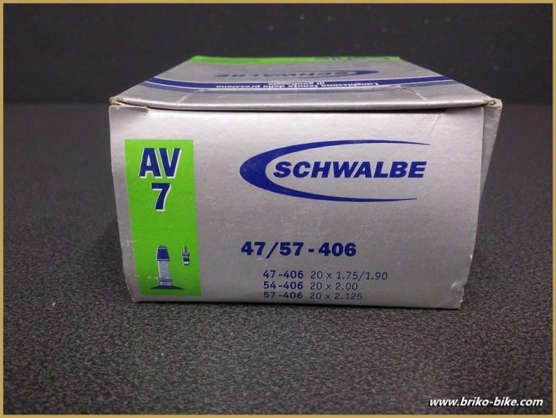 "schlauch SCHWALBE AV7 / 20"""
