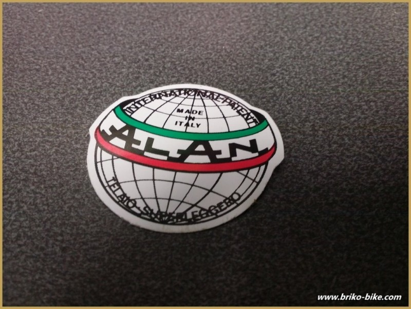 """Sticker with """"ALAN"""" OUR"""