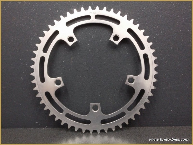 "Plateau NOS ""SHIMANO DURA ACE"" 52d BCD 130 (Ref 558)"