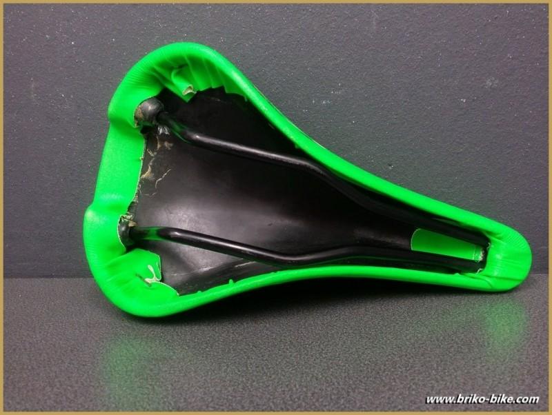 "Selle Italia ""CANYON"" neon Verde (Rif 243)"