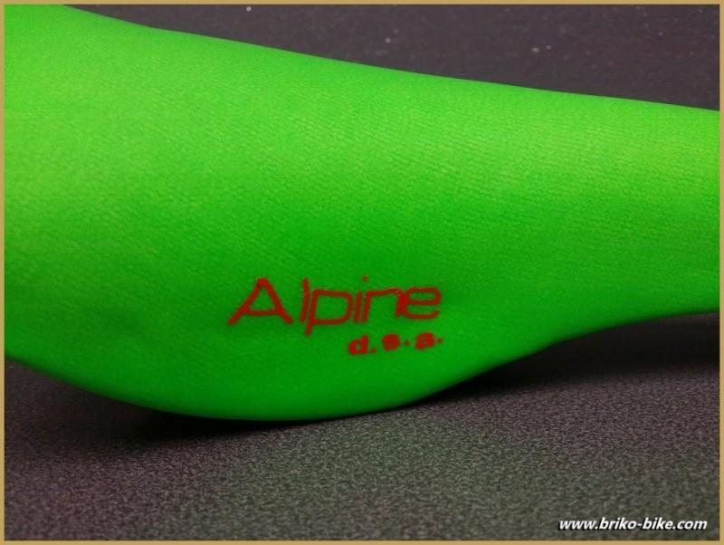 "Selle Italia ""ALPINE D.S.A"" Vert fluo (Ref 204)"