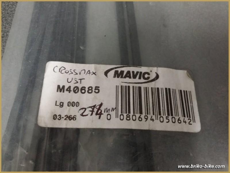 "Raggio ""MAVIC CROSSMAX UST"" 274mm"