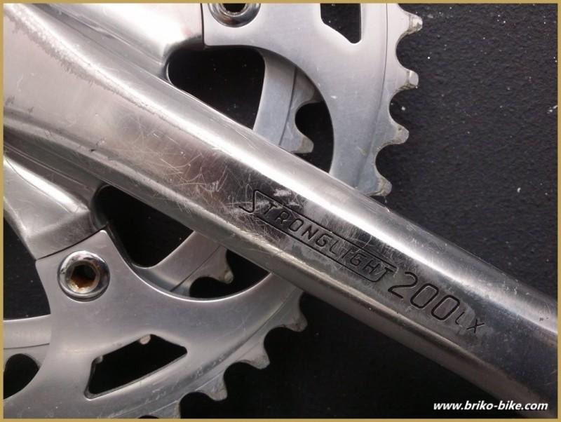 "Pédalier ""STRONGLIGHT 200LX"" mm  (Ref 548)"