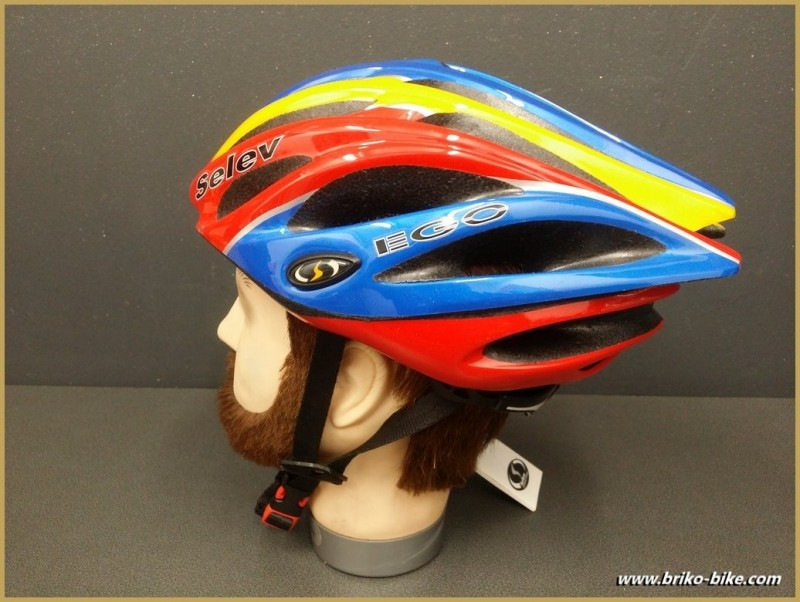"""Casque """"SELEV EGO"""" taille 56/60 (Ref 04)"""