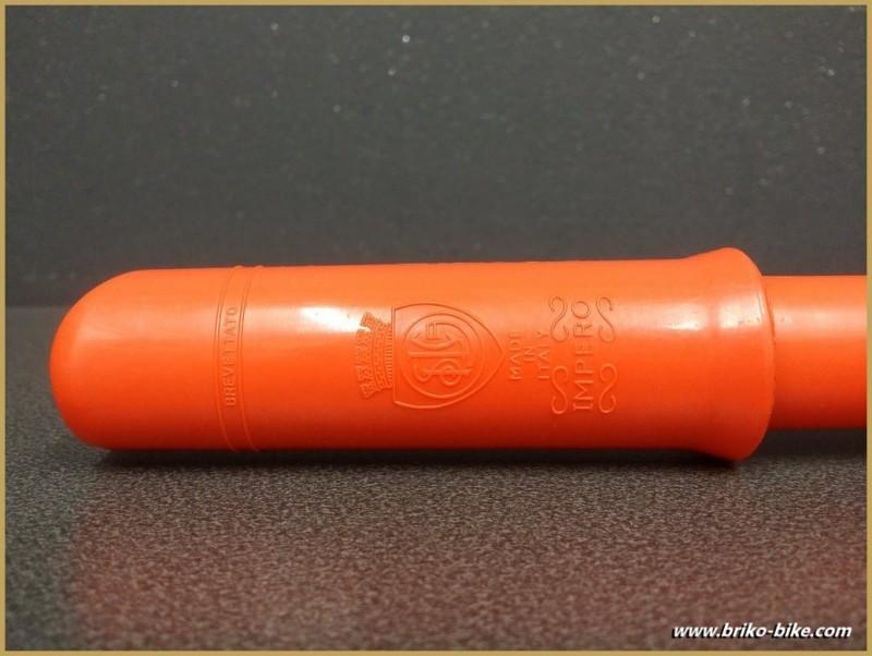 """Pompa NOSTRO """"SILCA IMPERO"""" Arancio Dimensioni 49/51 (Rif 15)"""