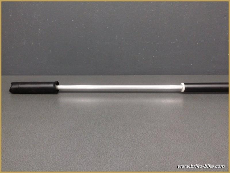 """Pumpe UNSERE """"SILCA IMPERO Schwarz Größe 55/57 (Ref 13)"""