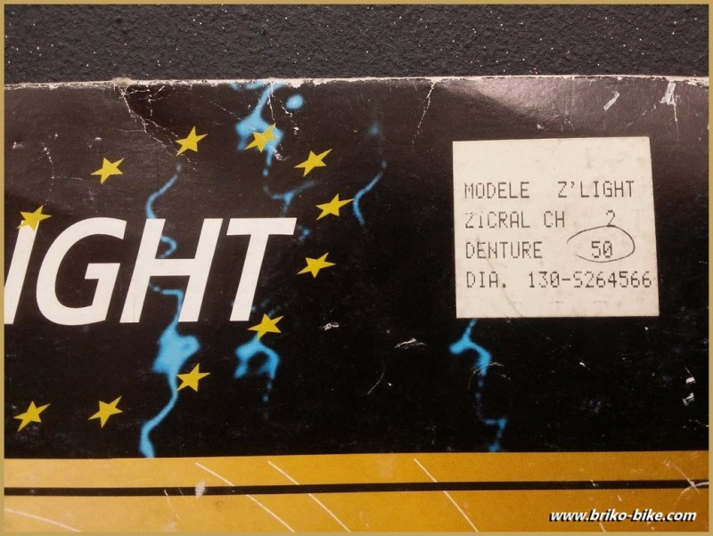"Kaffee-UNSERE ""STRONGLIGHT Z 'LIGHT"" 50d BCD 130 (Ref 604)"