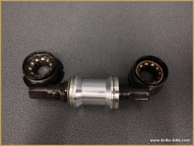 """La manovella di un """"Generico"""" BSC 111mm (Rif 227)"""