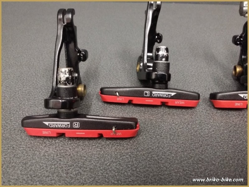 "Pads brake Cantilever ""TEKTRO cyclo-cross"" (Ref 380)"