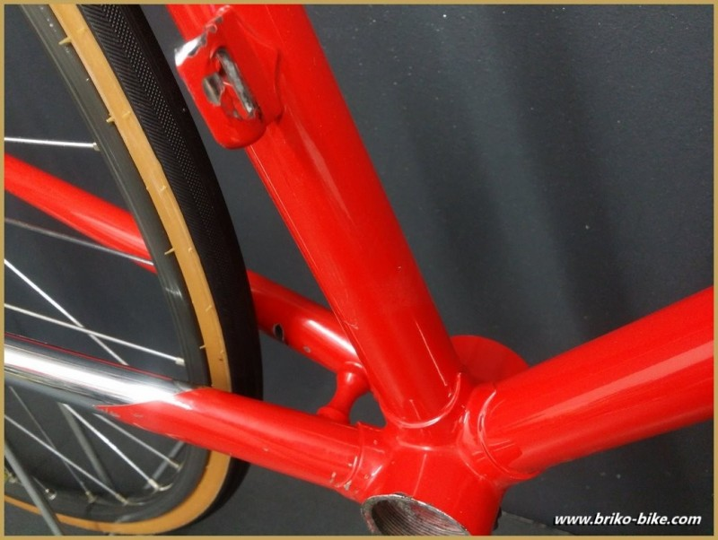 "Rahmen ""COLNAGO DECOR Rot"" Größe"